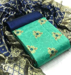 Clemira Banarasi Fancy Winter Wear Unstiched Suit, Handwash