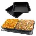 Square Shape Cake Mould for Microwave Oven Bakeware-square cake moulds