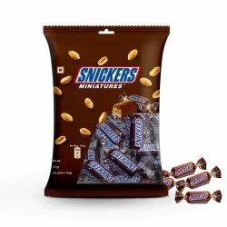 Rectangular Snickers Chocolate miniatures 150 Grams