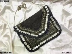 Banjara Boho Coin Beaded Bag