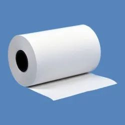 3 Square Plain Thermal Paper Roll 57mm X 20mtrs, GSM: Less Than 80 GSM