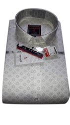 Men Printed Cotton Shirt, Size: XXL