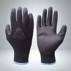 PU Black Hand Gloves