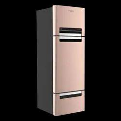 Gray Whirlpool Protton 240L Frost Free Triple Door Refrigerator, Three Doors