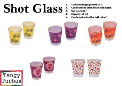Tangy Turban Shot Glass