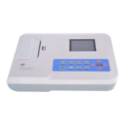 3 Channel ECG Machine, Digital