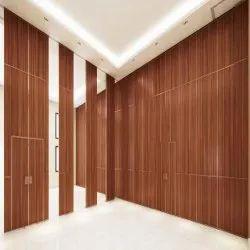 Wooden Banquet Hall Interior Design, Work Provided: Wood Work & Furniture