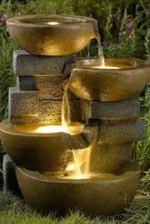 Marble Decorative Water Fountain, For Outdoor Use