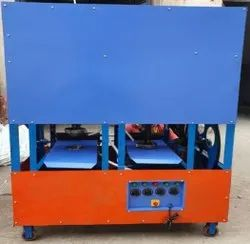 Double Die Fully Automatic Dona Plate Making Machine