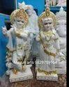 White Marble Radhakrishna Jugal Jodi