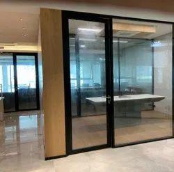 Aluminuim Style Door With Door Frame