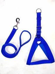Blue Dog Chest Belt Herness Set