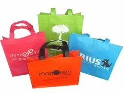Non Woven White Loop Handle Carry Bag - Loop Carry Bag, For Shopping