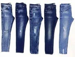 Slim Fit Casual Wear Men Denim Jeans, Waist Size: 28-36 Inch