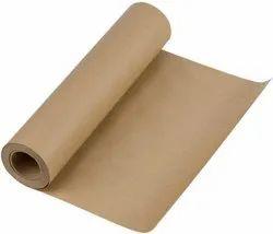 Brown Kraft Paper Roll, For Binding Industries, 100 Gsm