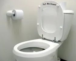 Closed Front White Western Toilet Seat, For Bathroom Fitting, Size/Dimension: 700 X 410 X 130 Mm
