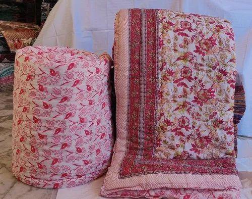 Cotton Stuffed Premium Jaipuri Razai