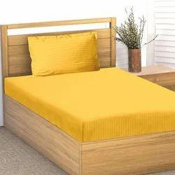 Satin Stripe Single Bed Sheet