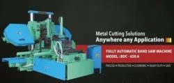 BDC-650 A Fully Automatic Double Column Band Saw Machine