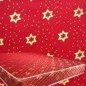 Red Printed Mattress Fabric