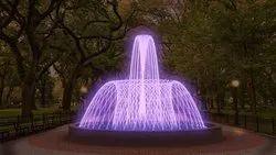 Orange Geyser Fountain