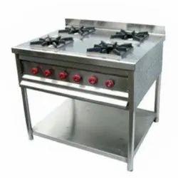 SS Kitchen Burner Range