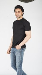 Plain Cotton Mens Round Neck T Shirt, Size: Medium