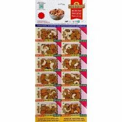 Mix Dry Fruit, Packet, Packaging Size: 12 Pack Per Sheet