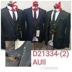 5 Piece Modern Formal Men Suit