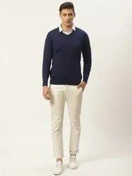 Export surpus Cotton Mens Navy Sweater