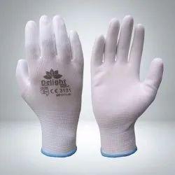PU White Hand Gloves