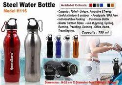 Shine Steel Water Bottle