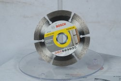 Silver Steel Diamond Cutting Blade Bosch 4'' 105mm( Wall, Marble)