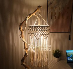 Fancy Decorative Macrame Lampshade