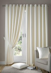 Cotton Printed Ready Made Curtain