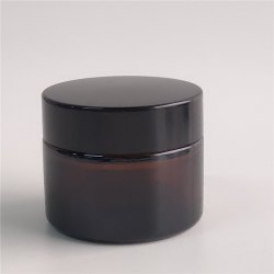 Cosmetic Glass Cream Jar