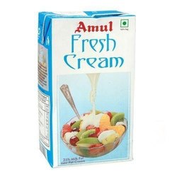 Amul Fresh Cream-Carton, Size(LXWXH)(Inches): 250 mL