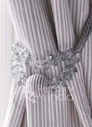 Elegant Beaded Tieback