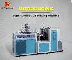 Fully Automatic High Speed Cup Making Machine