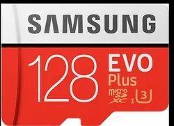 Samsung Evo Plus 128gb Memory Card, For Mobile, Size: MicroSD
