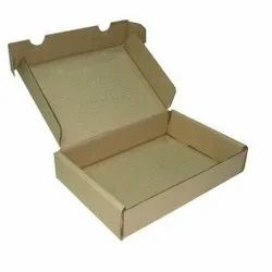 Brown Rectangular E Flute Corrugated Carton Box, Weight Holding Capacity (Kg): 5 - 10 Kg, Size(LXWXH)(Inches): 12x10x2 Inch
