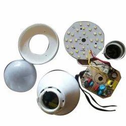 Ujjawal Aluminum 9W AC LED Bulb, Battery Type: Alkaline