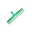 Garden Rake (14 Tooth Heavy Duty)