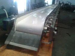 Belt Stainless Steel Conveyor, Material Grade: SS316, Capacity: 1 Ton