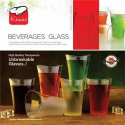 Plastic Transparent Kewin Drinking Glass, For Home,Hotel & Restaurant, Capacity: 250 Ml