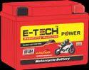Capacity: 3ah Two Wheeler E-tech Power Etlb4