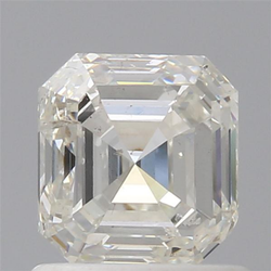 Asscher 1ct H SI2 IGI Certified Natural Diamond