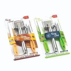 Lighter Combo (China Grater,Lighter,Knife,Peeler)