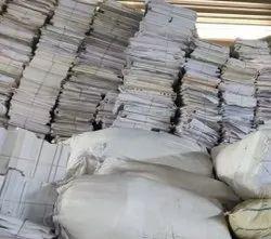 White Record Paper Scrap