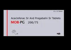 Aceclofenac Sr And Pregabalin Sr Tablets